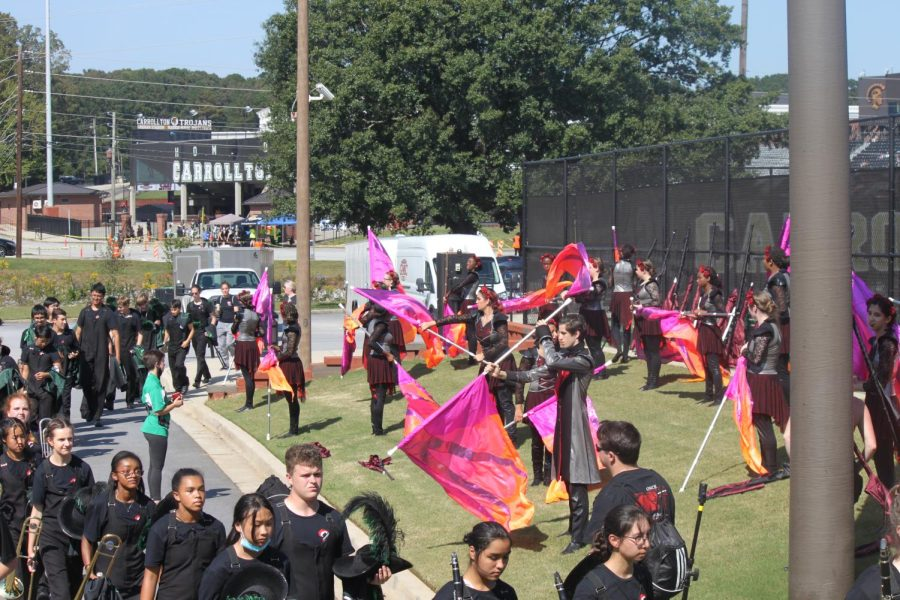 MHS Marching Band Season Begins